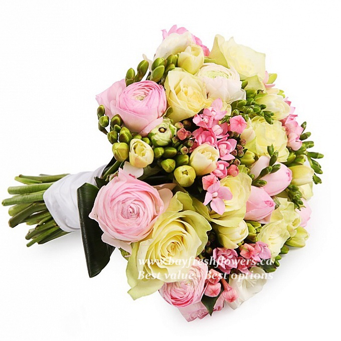 Lira - Bridal bouquet Buy in Vancouver. Fresh flowers delivery from ...