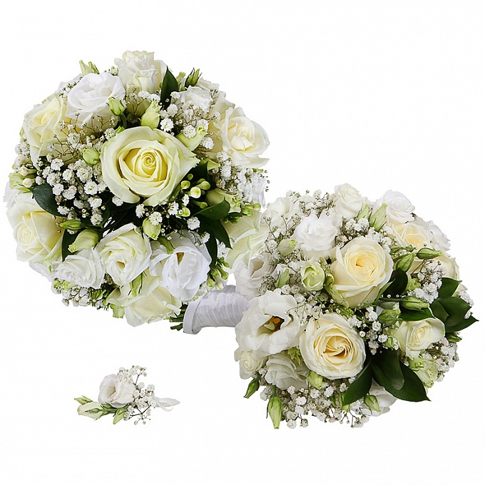 fresh flower wedding bouquets 2 wedding bouquet of white roses bay fresh flowers 4365
