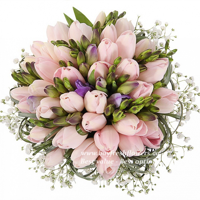 fresh flower wedding bouquets 2 bridal bouquet of and purple tulips bay fresh flowers 4365