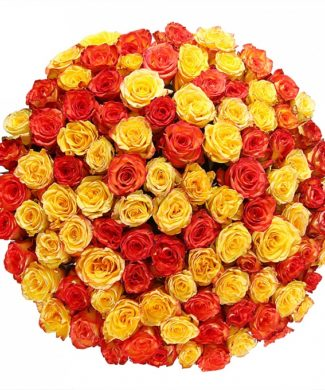 2022 Huge bouquet of roses - mix