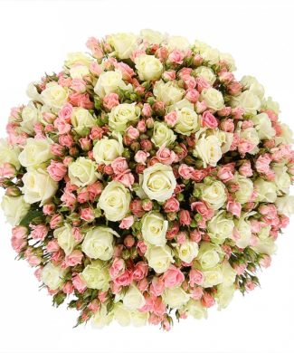 2013 Huge bouquet of roses - mix