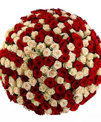 2016 Huge bouquet of roses - mix