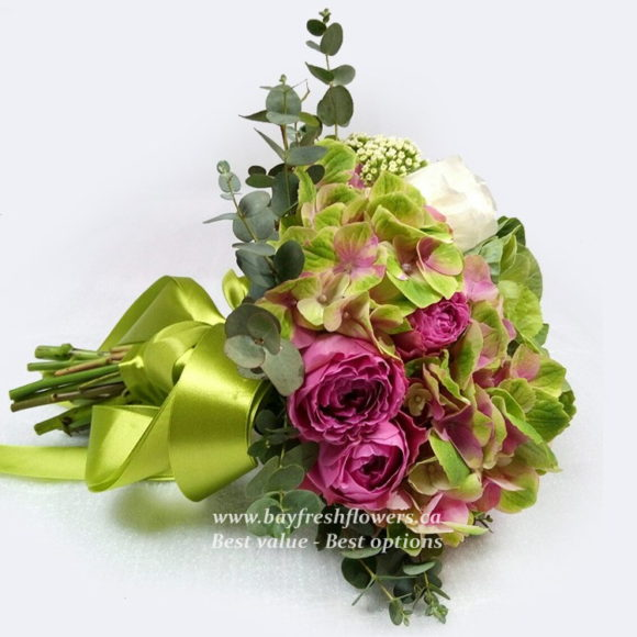 bouquet for wedding of roses