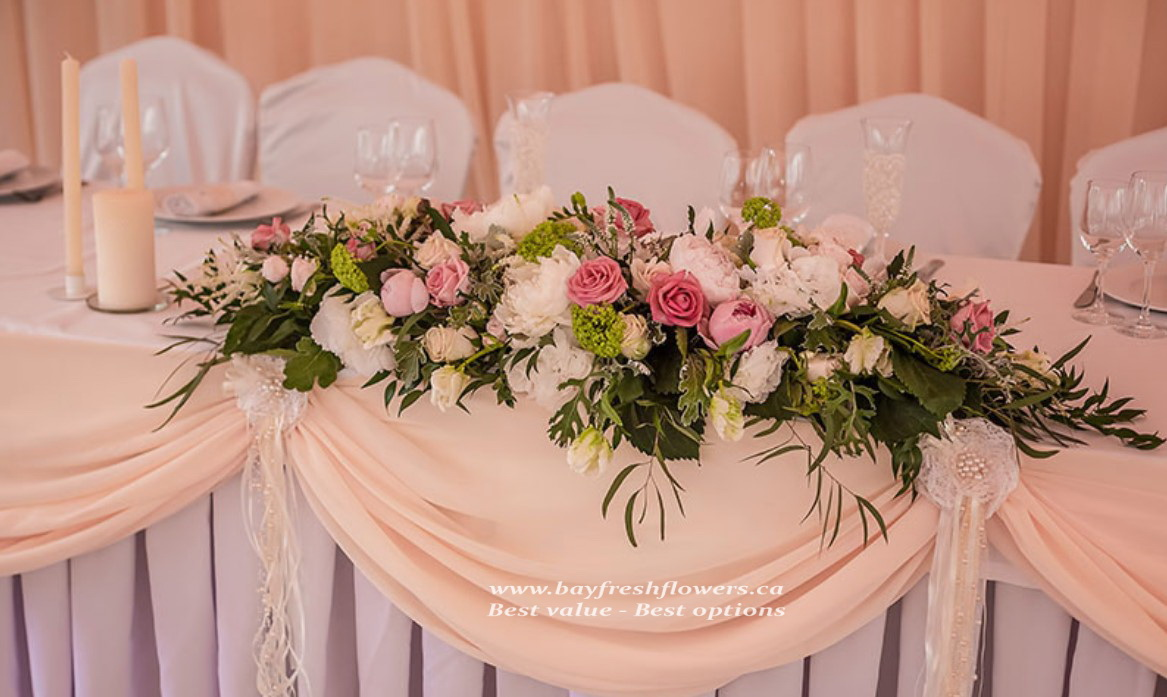 Cream Wedding Flowers And Centerpieces Buy In Vancouver Fresh