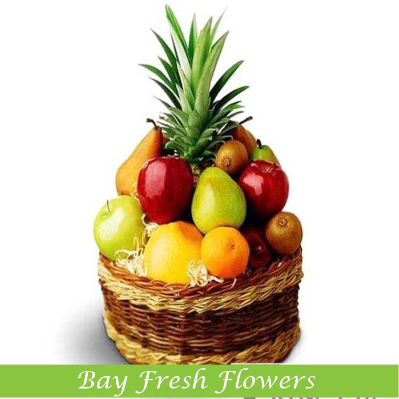 Fruit Flower Baskets Vancouver : Christmas fruit gift basketbay fresh flowers buy in
