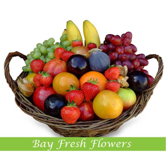 Fruit Flower Baskets Vancouver : Christmas fruit gift basket buy in vancouver fresh