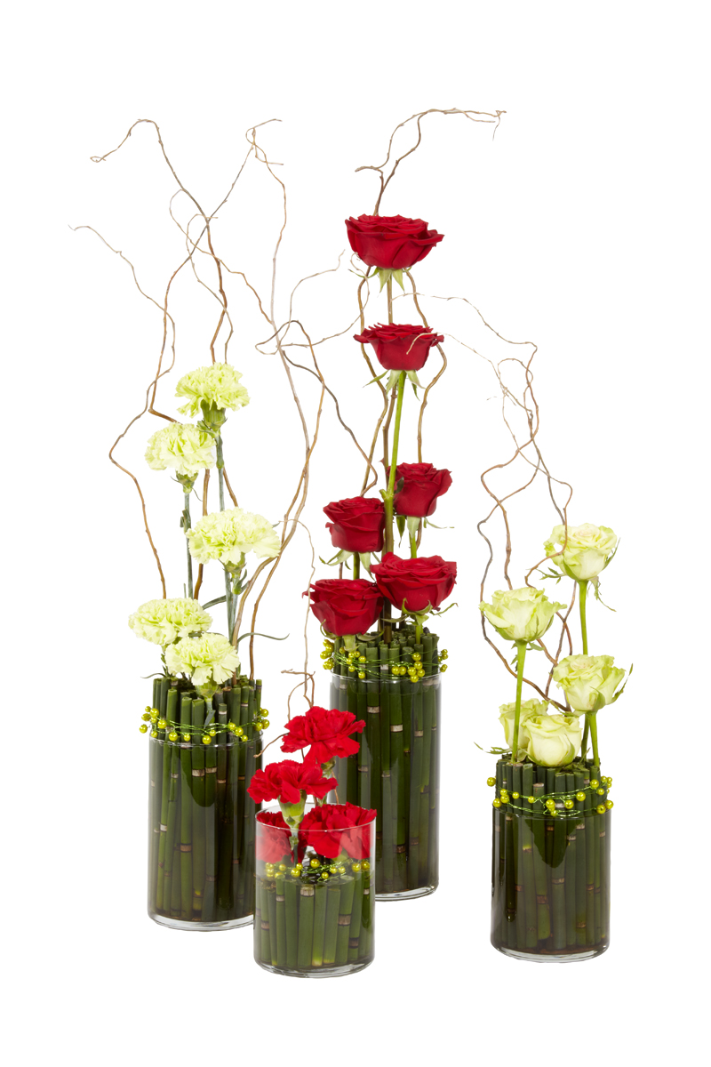 High tower corporate rose arrangements buy in vancouver