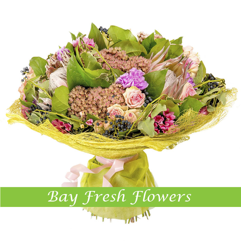 Bravo - Exotic flowers bouquet Buy in Vancouver. Fresh flowers ...