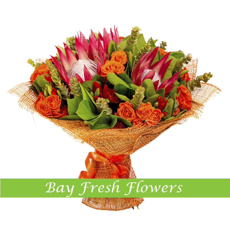 Emerald - Exotic flowers bouquet Buy in Vancouver. Fresh flowers ...
