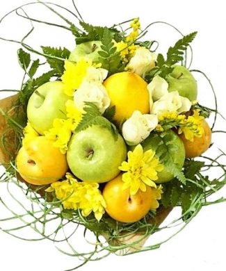 Apple and lemon bouquet