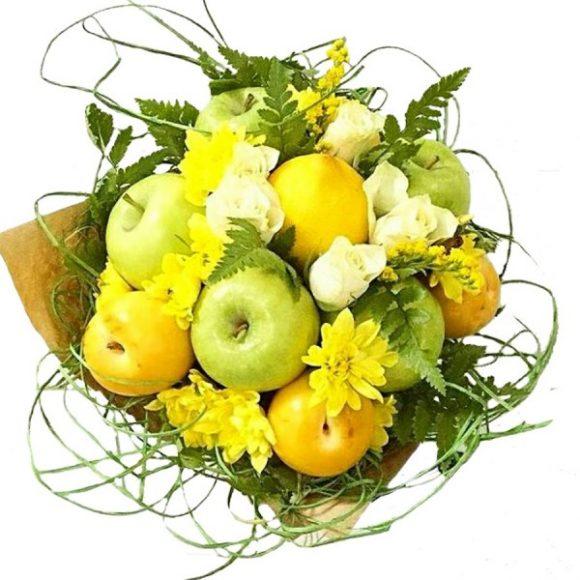 Apple and lemon bouquet