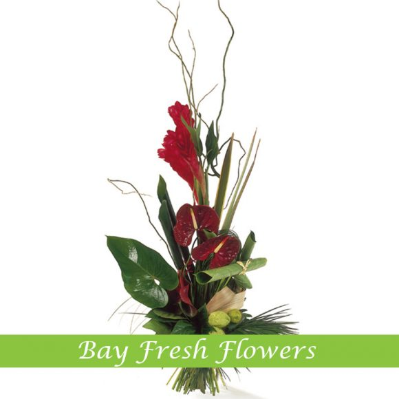 Corporate flowers with callas