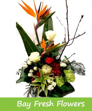 corporate flower arrangement