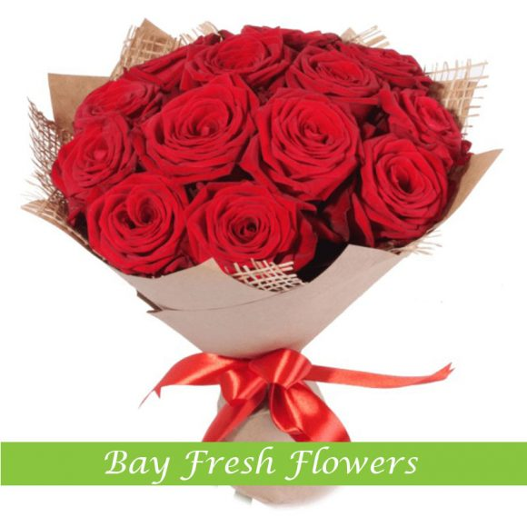 Red Roses - Bouquet
