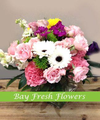 Spring flowers arrangement