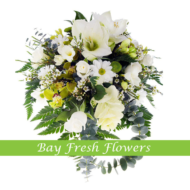 Sympathy - funeral bouquet Buy in Vancouver. Fresh flowers delivery ...