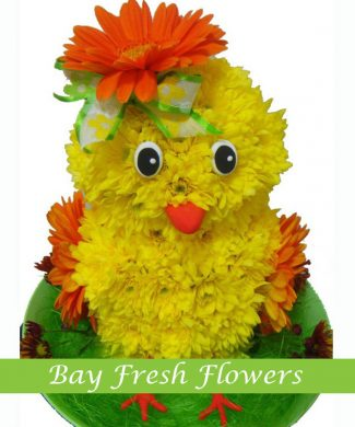 Chicken from flowers