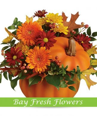 Autumn flowers and thanksgiving