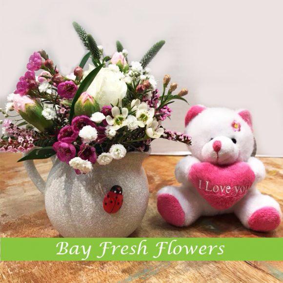 small bouquet for arrangement