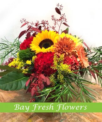cute autumn floral arrangement