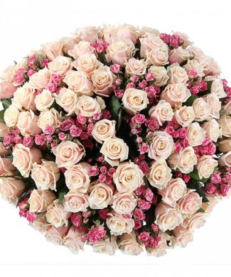2010 Huge bouquet of roses - mix