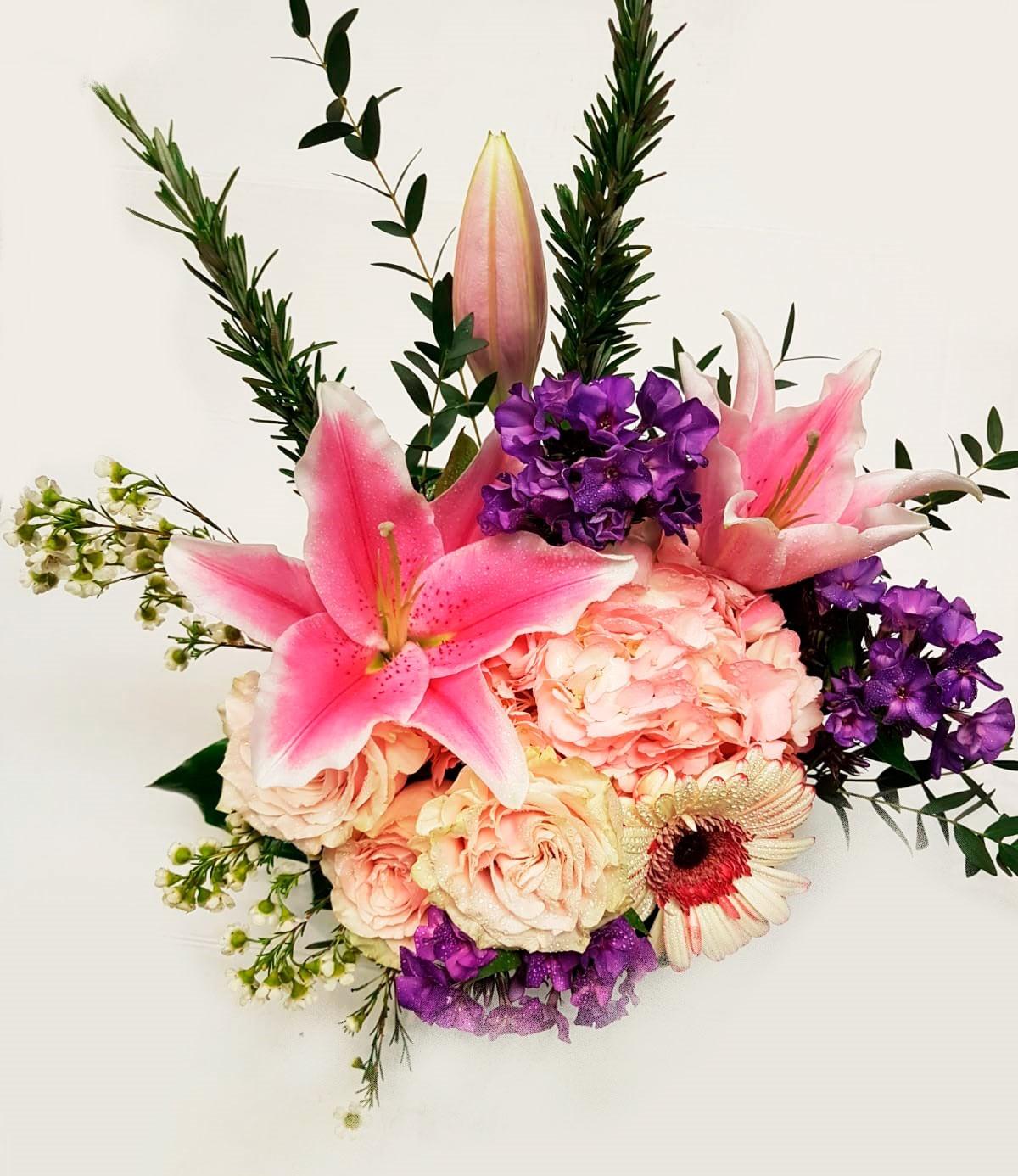 Elegy flower arrangement in a vase buy vancouver